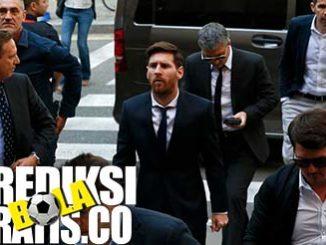 lionel messi, messi, barcelona, la liga, berita bola