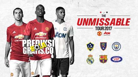 manchester united, premier league, liga inggris, tur, pra musim, 2017