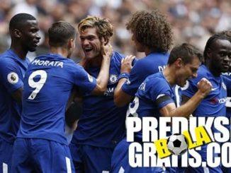tottenham vs chelsea, tottenham hotspur, chelsea, premier league, marcos alonso, Tottenham Kalah 1-2 dari Chelsea