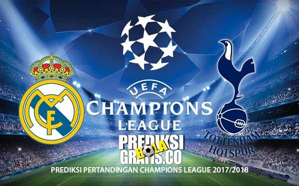 prediksi real madrid vs tottenham, champions league, liga champions