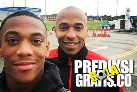 thierry henry, anthony martial, premier league, liga inggris, manchester united