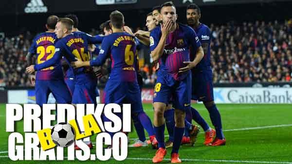 hasil pertandingan, la liga, valencia, barcelona, lionel messi, jordi alba, rodrigo, barca