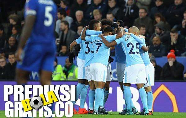 hasil pertandingan, liga inggris, premier league, manchester city, leicester city, pep guardiola, gabriel jesus, kevin de bruyne