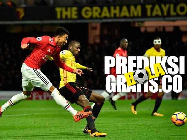 hasil pertandingan, liga inggris, premier league, watford, manchester united, mu, ashley young