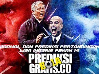 premier league minggu 14, jadwal, prediksi, pertandingan, liga inggris, premier league