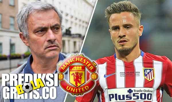 manchester united, atletico madrid, saul niguez, jose mourinho, rumor transfer