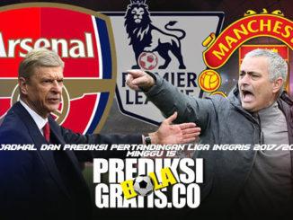 jadwal, prediksi, pertandingan, liga inggris, premier league, premier league minggu 15, arsenal, manchester united