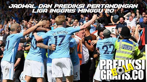premier league minggu 20, jadwal, prediksi. liga inggris, premier league, manchester city, arsenal, liverpool