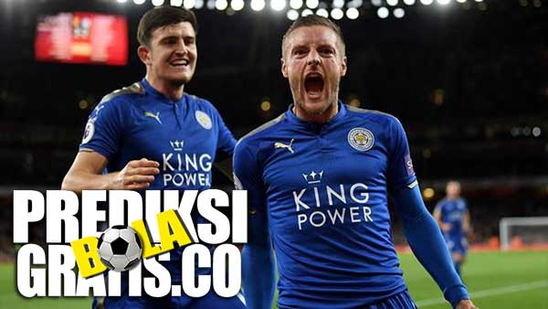 hasil pertandingan, liga inggris, premier league, leicester city, the foxes, manchester united, the red devis, harry meguier, jamie vardy, juan mata