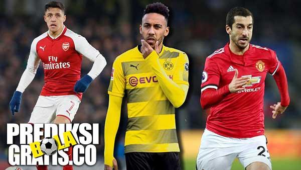 Arsenal, Theo Walcott, Alexis Sanchez, Malcom, Henrikh Mkhitaryan, Aubameyang, manchester united, manchester city, everton, borussia dortmund, the gunners, liga inggris, premier league