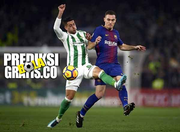 hasil pertandingan, la liga, real betis vs barcelona, real betis, barcelona, lionel messi, luis suarez, ivan rakitic