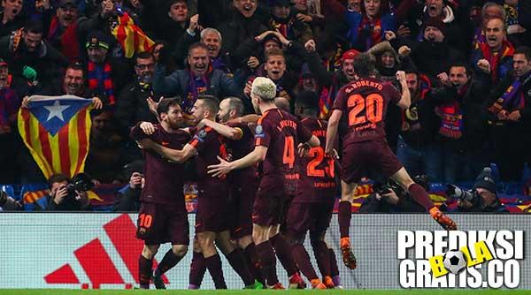 hasil pertandingan, champions league, chelsea vs barcelona, chelsea, barcelona, the blues, barca, stamford bridge, camp nou, antonio conte, eden hazard, willian, ernesto valverde, lionel messi