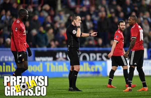 hasil pertandingan, fa cup, huddersfield vs manchester united, huddersfield town, david wagner, manchester united, mu, jose mourinho, romelu lukaku, juan mata, alexis sanchez, paul pogba