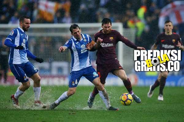 hasil pertandingan, la liga, espanyol vs barcelona, espanyol, barcelona, ernesto valverde, gerard pique, luis suarez, philippe coutinho, lionel messi