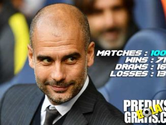 pep guardiola, manchester city, premier league, liga inggris, 100