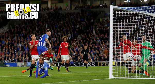 hasil pertandingan, brighton vs manchester united, manchester united, brighton and hove albion, marcus rashford, anthony martial, jose mourinho