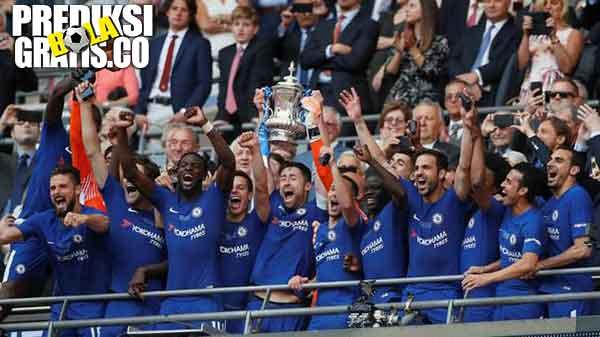 chelsea juara fa cup, 2018, fa cup, premier league, chelsea, manchester united, jose mourinho, antonio conte, eden hazard, phil jones