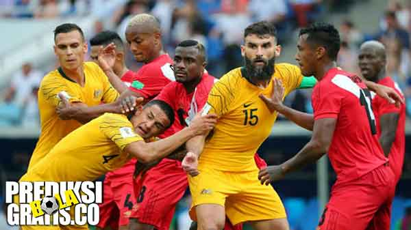 hasil pertandingan, piala dunia 2018, australia vs peru, australia, peru, paolo guerrero, andrea carrillo, mile jedinak