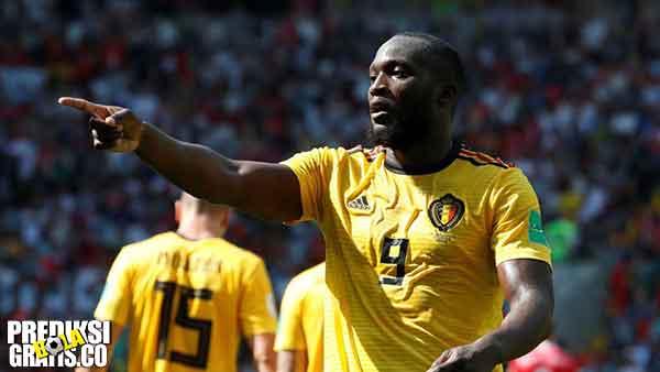 hasil pertandingan, piala dunia 2018, belgia vs tunisia, belgia, tunisia, romelu lukaku, eden hazard, michy batshuayi