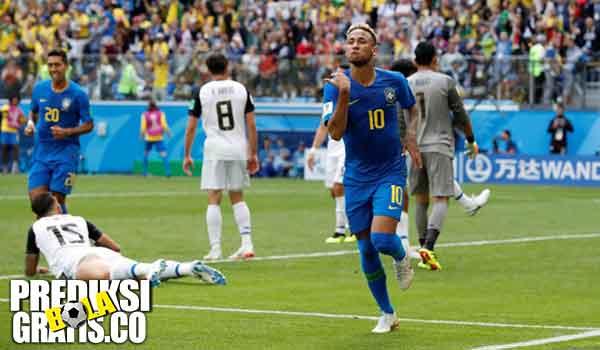 hasil pertandingan, piala dunia 2018, brazil vs kosta rika, brazil, kosta rika, neymar, philippe coutinho