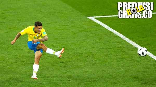 hasil pertandingan, piala dunia 2018, brazil vs swiss, brazil, swiss, steven zuber, neymar, philippe coutinho, tite, xherdan shaqiri