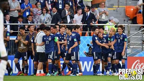 hasil pertandingan, piala dunia 2018, jepang vs polandia, jepang, polandia