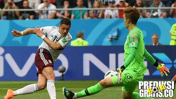 korea selatan vs meksiko, hasil pertandingan, piala dunia 2018, korea selatan, meksiko, javier hernandez, chicharito, hirving lozano, son heung min