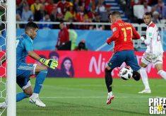 hasil pertandingan, piala dunia 2018, spanyol vs maroko, spanyol, maroko