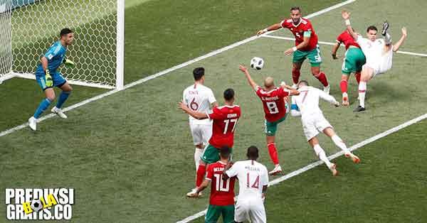 hasil pertandingan, piala dunia 2018, portugal vs maroko, portugal, maroko, cristiano ronaldo