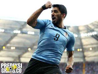 hasil pertandingan, piala dunia 2018, uruguay vs rusia, uruguay, rusia