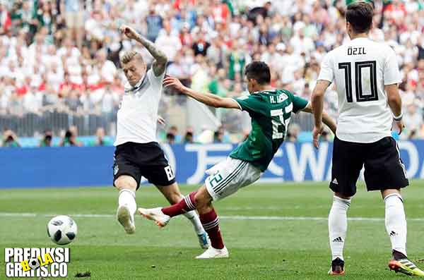 hasil pertandingan, piala dunia 2018, jerman vs meksiko, jerman, meksiko, timo werner, mesut ozil, toni kroos, hirving lozano, guillermo ochoa, javier hernandez