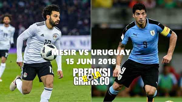 mesir vs uruguay, mesir, uruguay, mohamed salah, luis suarez, edinson cavani, piala dunia 2018, prediksi pertandingan, prediksi