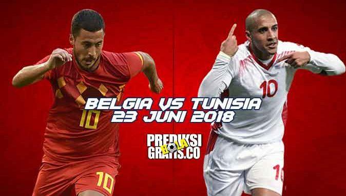 prediksi pertandingan, piala dunia 2018, belgia vs tunisia, belgia, tunisia, eden hazard, romelu lukaku, kevin de bruyne, dries mertens