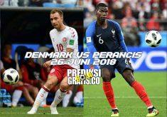 prediksi pertandingan, piala dunia 2018, denmark vs perancis, denmark, perancis