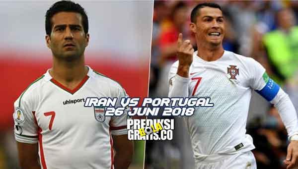 prediksi pertandingan, piala dunia 2018, iran vs portugal, iran, portugal
