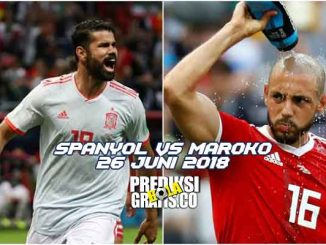 prediksi pertandingan, piala dunia 2018, spanyol vs maroko, spanyol, maroko