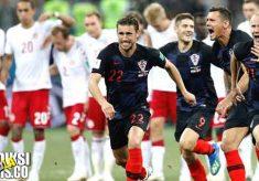 hasil pertandingan, piala dunia 2018, babak 16 besar, kroasia vs denmark, kroasia, denmark, kasper schmeichel, christian eriksen, luka modric, ivan rakitic