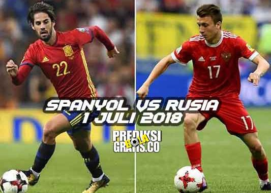 prediksi pertandingan, piala dunia 2018, babak 16 besar, spanyol vs rusia, spanyol, rusia