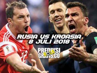 prediksi pertandingan, piala dunia 2018, babak perempat final, rusia vs kroasia, rusia, kroasia, aleksandr golovin, luka modric