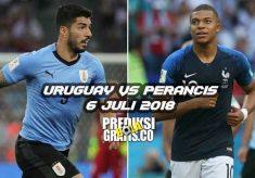 prediksi pertandingan, perempat final, piala dunia 2018, uruguay vs perancis, uruguay, perancis, luis suarez, edinson cavani, kylian mbappe, paul pogba, antoine griezmann, diego godin, jose gimenez